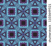 ikat tribal art print. seamless ...   Shutterstock .eps vector #1103649521