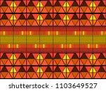 ikat tribal art print. african...   Shutterstock .eps vector #1103649527