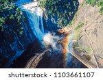 Aerial Of Montmorency Falls ...