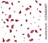 abstract flower petals confetti ... | Shutterstock .eps vector #1103683487