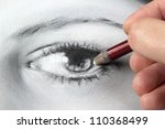 Drawing A Portrait   Eye Close...