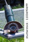 Small photo of Grinding machine grind the old color