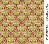 seamless  wallpaper in art...   Shutterstock .eps vector #1103694767