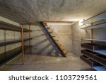 empty basement in abandoned old ... | Shutterstock . vector #1103729561