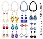 jewellery woman luxury diamond...   Shutterstock .eps vector #1103744327