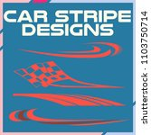 tribal and cool car stripe... | Shutterstock .eps vector #1103750714