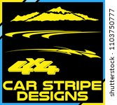 tribal and cool car stripe... | Shutterstock .eps vector #1103750777