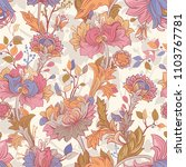 gentle seamless pattern with... | Shutterstock . vector #1103767781