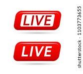 live video streaming vector... | Shutterstock .eps vector #1103773655