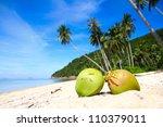 Coconuts At Beach