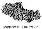 tibet chinese territory map... | Shutterstock .eps vector #1103796314