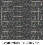 Pattern With Crossed Lines In...