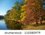 View On Autumn Landscape Of...