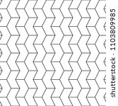 mosaic. zigzag figures ornament.... | Shutterstock .eps vector #1103809985