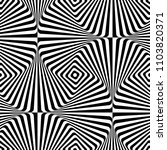 abstract vector seamless moire... | Shutterstock .eps vector #1103820371
