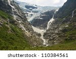 Kjenndalen Glacier In Norway  ...