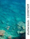couple snorkeling   Shutterstock . vector #110387639