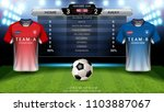 football cup or world... | Shutterstock .eps vector #1103887067