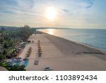 Aerial View Of Dawn On The Mui...