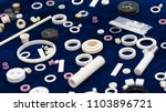 ceramic part for machine ... | Shutterstock . vector #1103896721