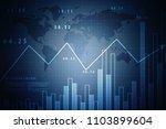 2d rendering stock market... | Shutterstock . vector #1103899604