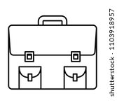 portfolio briefcase isolated...   Shutterstock .eps vector #1103918957