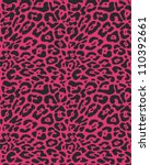 seamless animal fur pattern | Shutterstock .eps vector #110392661