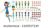 handball player male  female... | Shutterstock .eps vector #1103927135