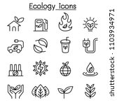 ecology   sustainable lifestyle ... | Shutterstock .eps vector #1103934971