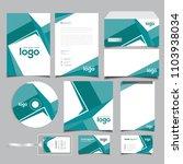 corporate identity branding...   Shutterstock .eps vector #1103938034