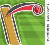 Poster For Cricket Sport  Bat...