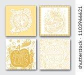 rosh hashanah   jewish new year ... | Shutterstock .eps vector #1103966621