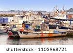 poole harbour  dorset  england  ...   Shutterstock . vector #1103968721