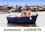 poole harbour  dorset  england  ...   Shutterstock . vector #1103968739