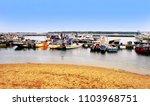 poole harbour  dorset  england  ...   Shutterstock . vector #1103968751