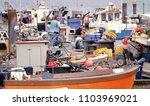 poole harbour  dorset  england  ...   Shutterstock . vector #1103969021