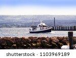 poole harbour  dorset  england  ... | Shutterstock . vector #1103969189