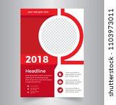 creative flyer design. modern... | Shutterstock .eps vector #1103973011