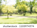 abstract blur city park bokeh... | Shutterstock . vector #1103974574