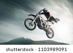 moto freestyle. extreme | Shutterstock . vector #1103989091
