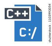 file vector icon | Shutterstock .eps vector #1103993054