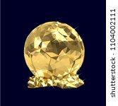 vector illustration golden... | Shutterstock .eps vector #1104002111