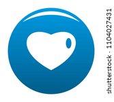three dimensional heart icon....   Shutterstock . vector #1104027431