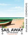 """Sail Away """" Visit The Seaside""""..."""