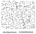 infographic elements. abstract... | Shutterstock . vector #1104054344