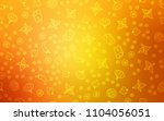 light orange vector layout with ... | Shutterstock .eps vector #1104056051