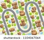 vector illustration. cityscape. ... | Shutterstock .eps vector #1104067064