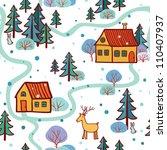 seamless pattern. seamless... | Shutterstock .eps vector #110407937