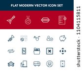 modern  simple vector icon set... | Shutterstock .eps vector #1104115811