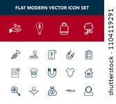 modern  simple vector icon set...   Shutterstock .eps vector #1104119291